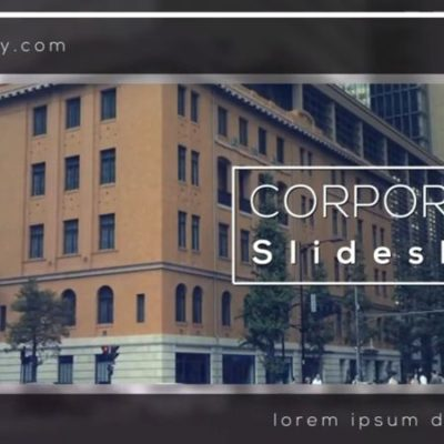 Corporate Slideshow After Effects Templates